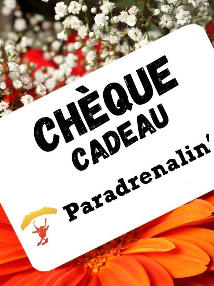Paradrenalin Chèque Cadeau