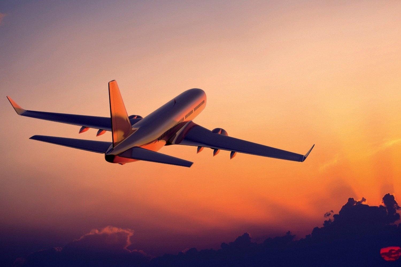 Simulation de pilotage : avion