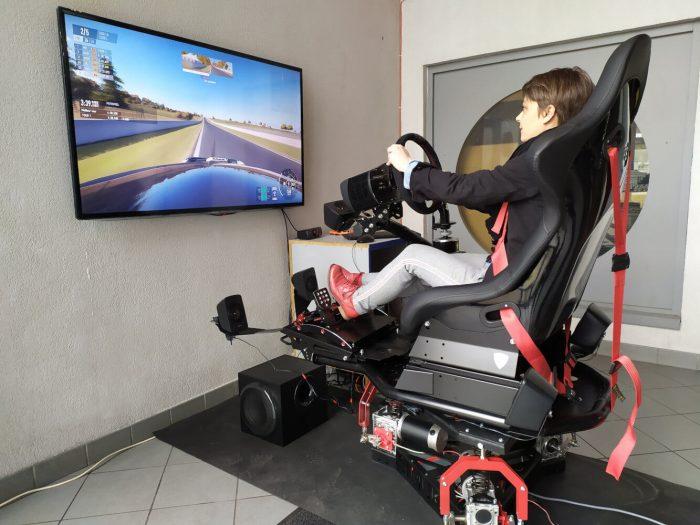 Simulation de pilotage : adapté aux handicapés