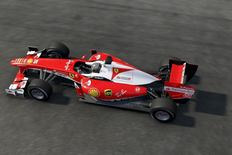 Simulation de pilotage : voiture